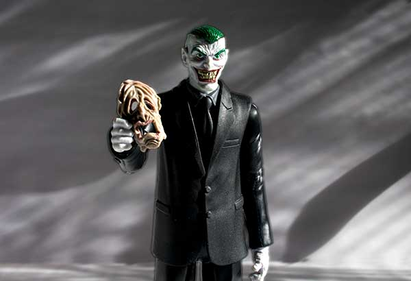 Joker with mask