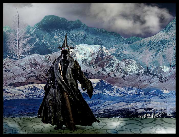 Morgul Lord Witch King in the field
