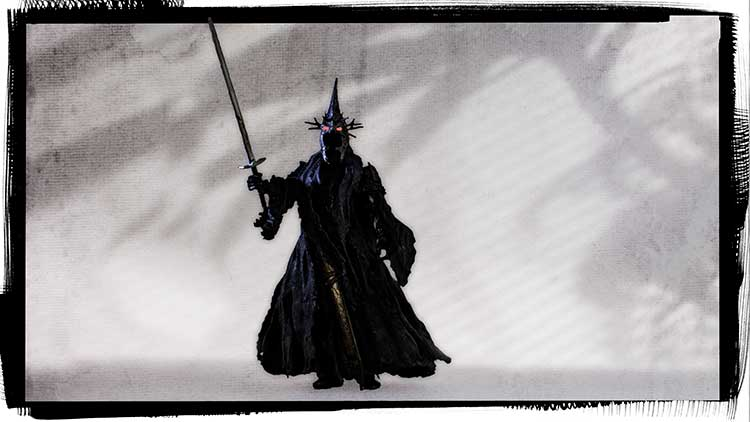 Witch King with sword