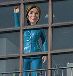 Hillary at the window