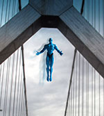 Dr. Manhattan at Bay Bridge